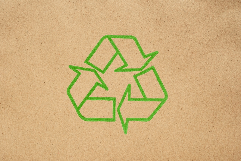 Earth tones let shoppers know how eco-friendly your business is on sight.